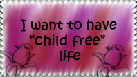 Child free stamp by VegetasLittleLover