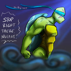 Stop Right There 5-6-2019 by Nei-Ning