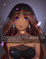 Fishes Collab Commission - Skele-tea by yinghuo