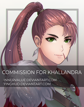 Fishes Collab Commission 2 - Khallandra