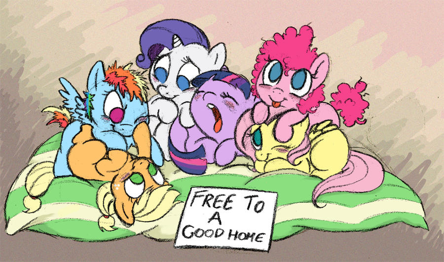 Free to a Good Home by bitter-knitter