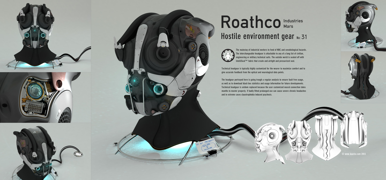 Roathco Helmet - Hatch Edit by kaario