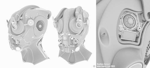 Roathco Helmet Wireframe by kaario