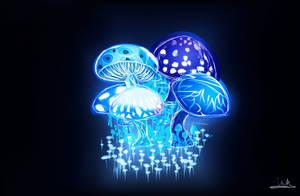 Mushrooms by 23MC-Studio