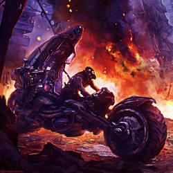 Iguana Marauder - Mercenary Card