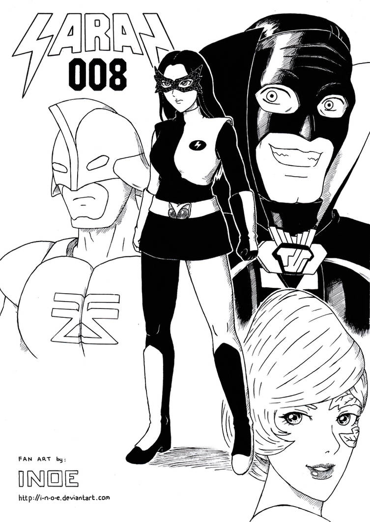 Saras 008 - Pahlawan Kebajikan by i-n-o-e