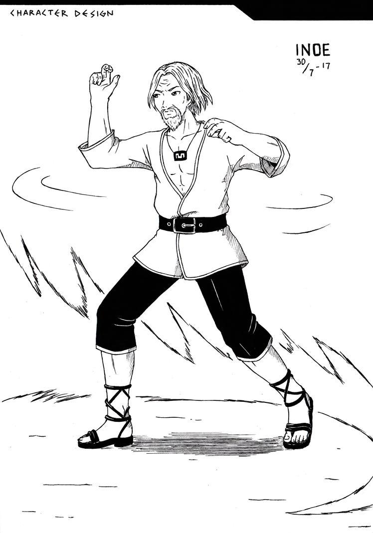 Just Draw! #12: Master Pawiro by i-n-o-e