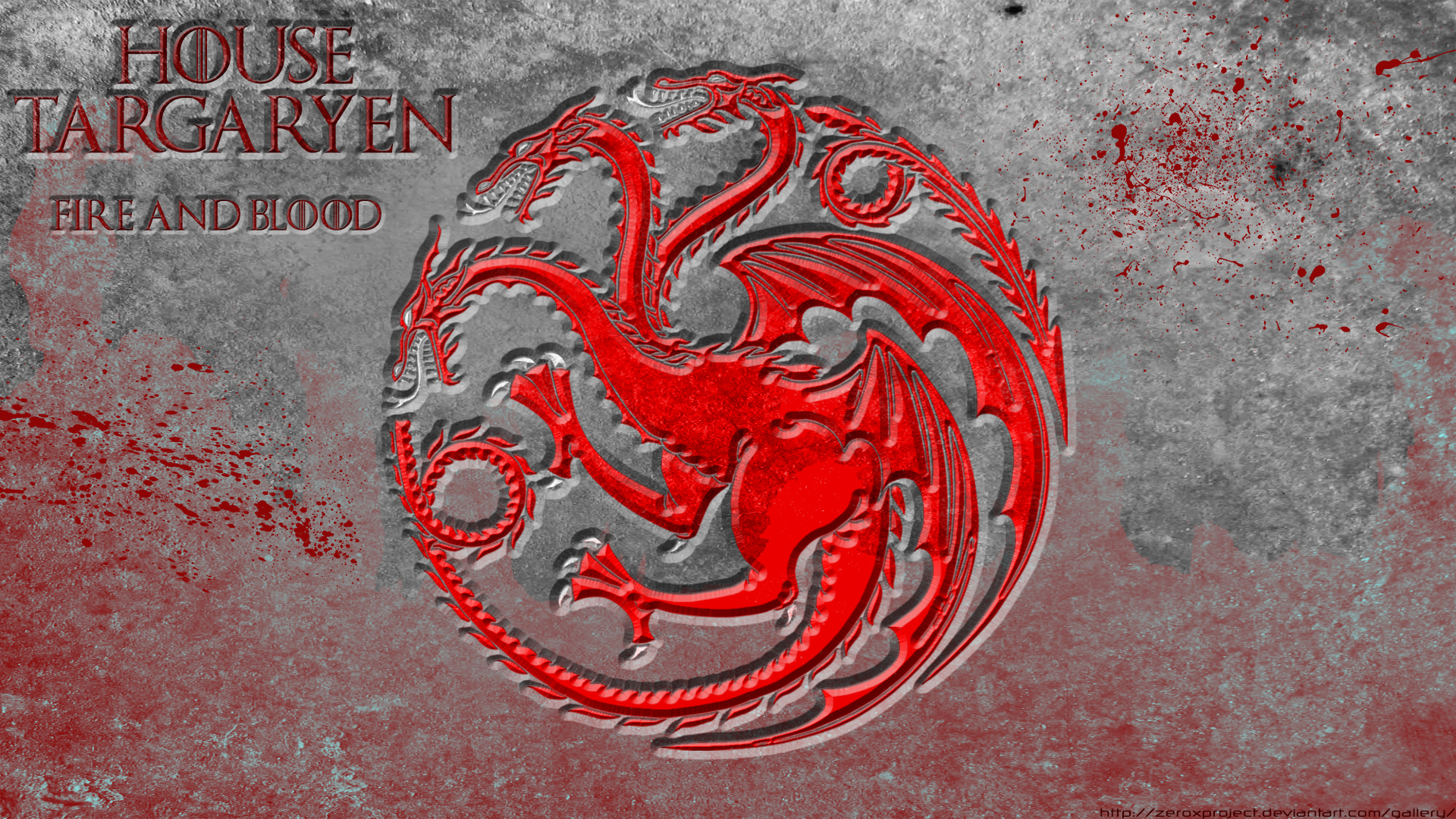 House Targaryen Game Of Thrones 1920x1080 Hd By Zeroxproject