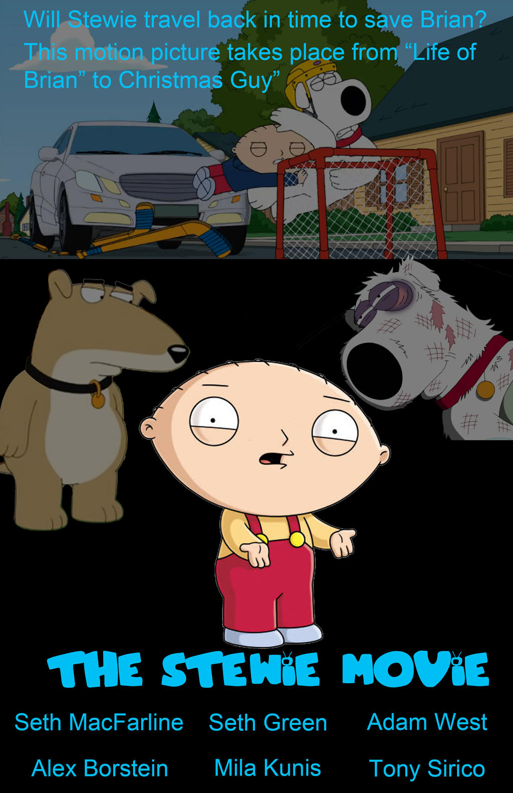 the stewie movie poster by atarster on deviantart