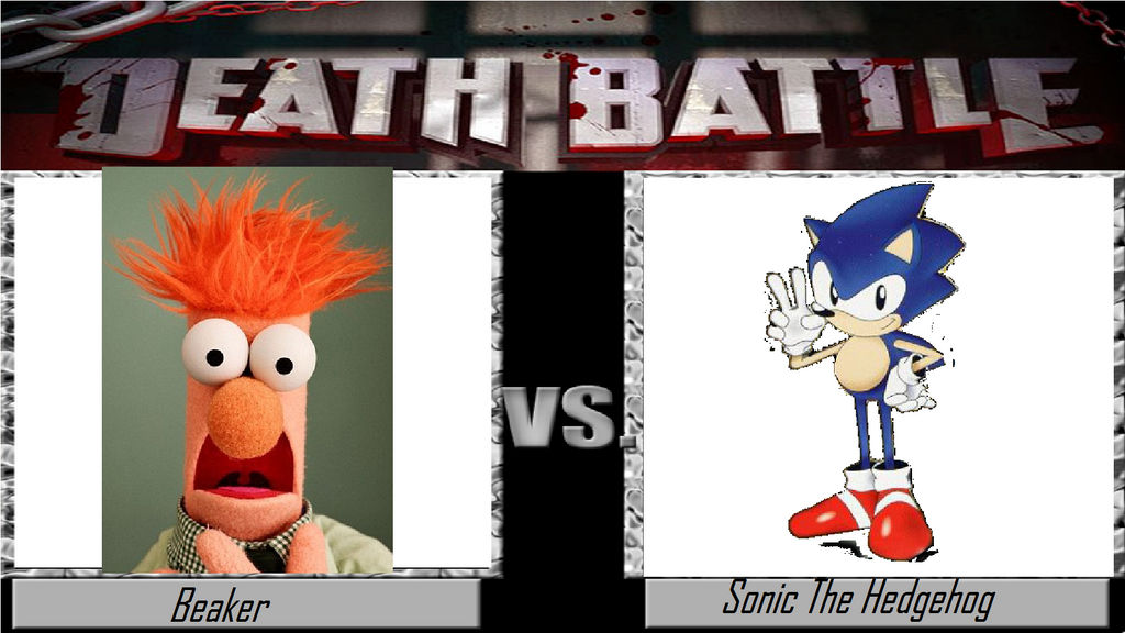 Death Battle Beaker Vs Sonic The Hedgehog By Crashfan96 On Deviantart