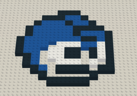 Lego Mega Man by Rithiv