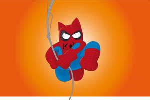 spider cat by kalhaaan