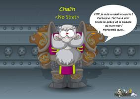 War Dwarf Warcraft by kalhaaan