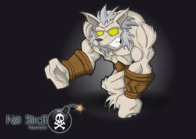Worgen Warcraft by kalhaaan