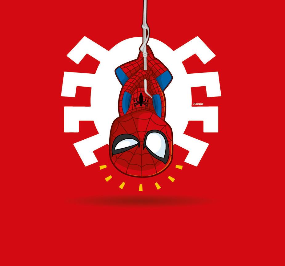 Spiderman marvel Comic by kalhaaan