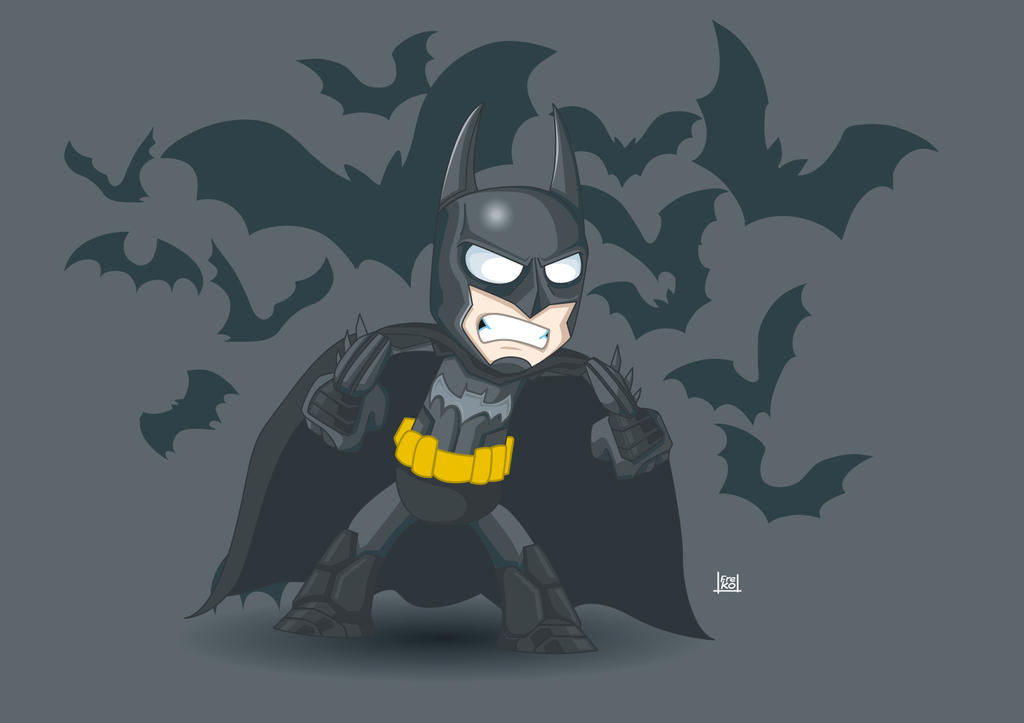A tribute to Batman DC by kalhaaan
