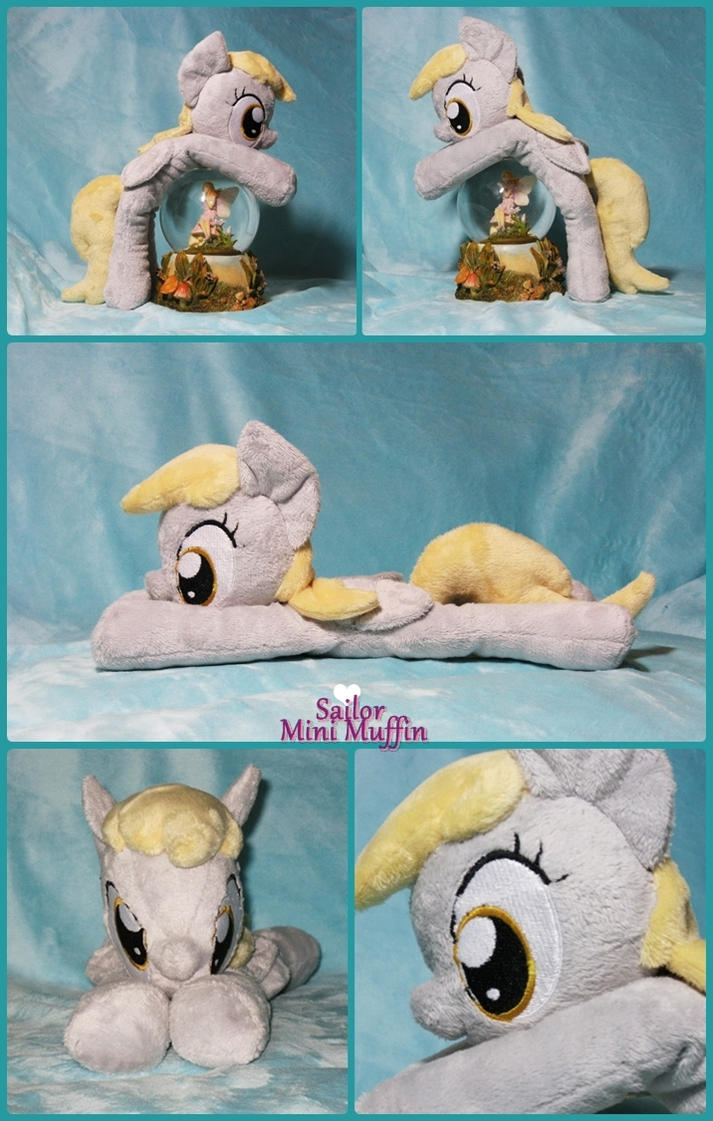 Derpy Hooves Beanie Plush by SailorMiniMuffin