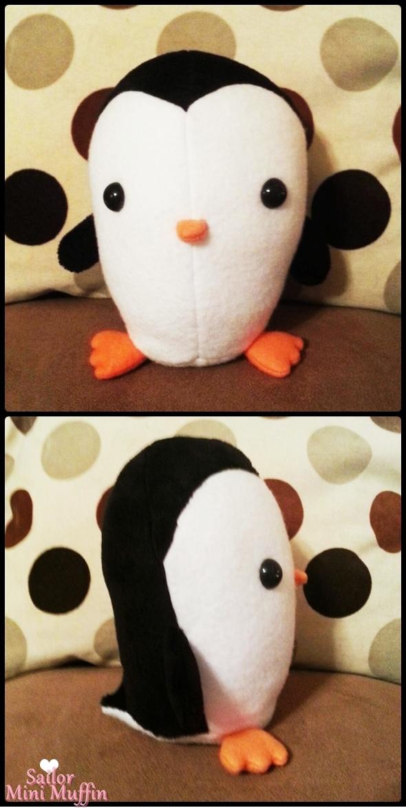 Penguin Plush by SailorMiniMuffin