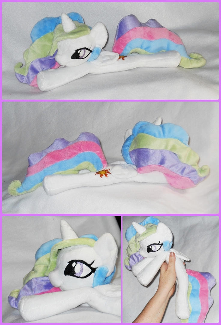 Princess Celestia Plush by SailorMiniMuffin