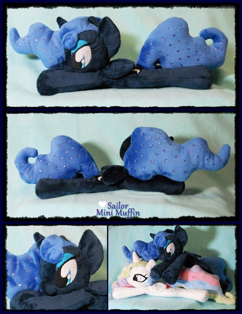 Princess Luna - Little and Snuggly! by SailorMiniMuffin