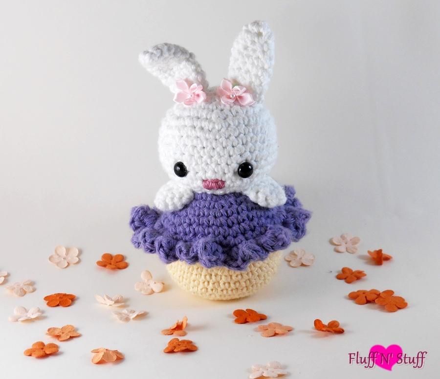 Amigurumi Cute Rabbit : Cupcake Bunny Amigurumi by SailorMiniMuffin on DeviantArt