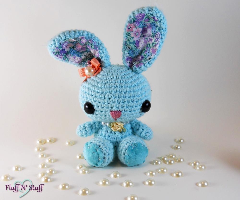 Amigurumi Spring Bunny Pattern : Victorian Spring Time Amigurumi Bunny by SailorMiniMuffin ...