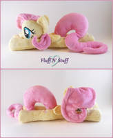 Fluttershy Plush by SailorMiniMuffin