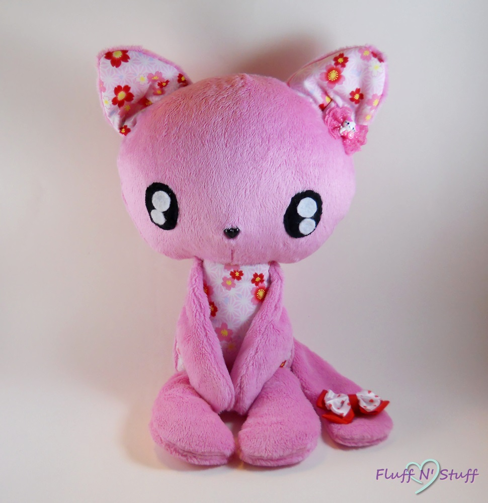 Kawaii Cherry Blossom Kitty by SailorMiniMuffin