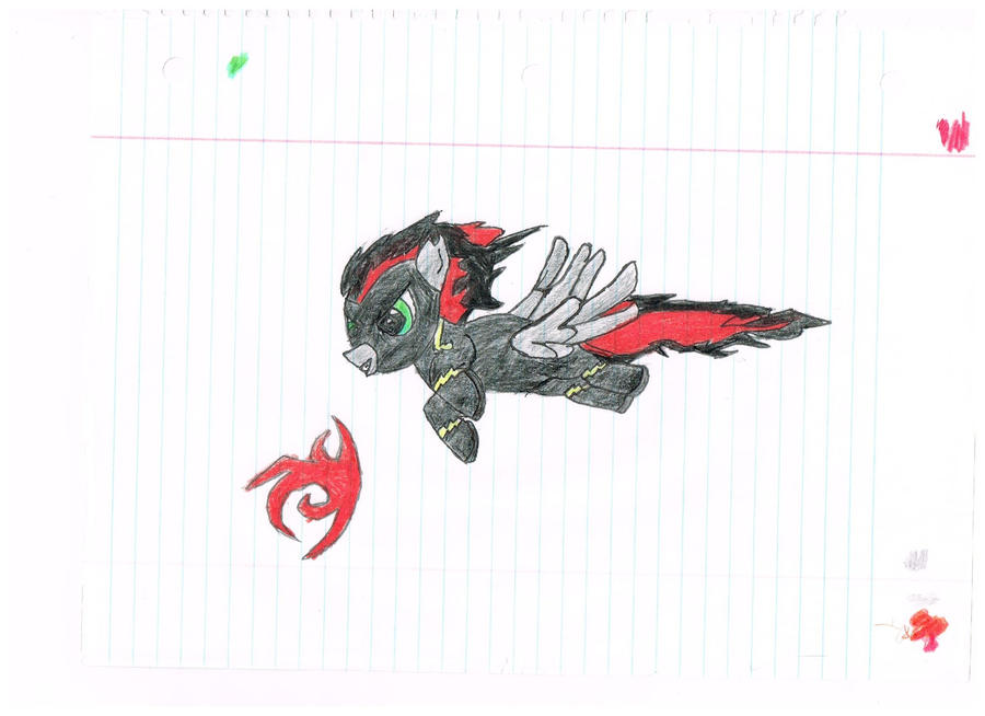 My Shadowbolt OC Renegade by TravisTheShadowbolt