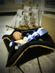 costume boat hat - yo ho by Tariray