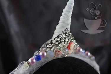 Unicorn princess horn closeup