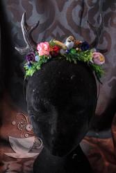 Antler headpiece 2014 edition