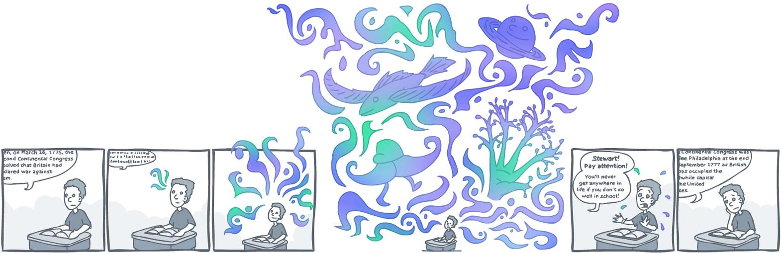 Stream of Consciousness by jamtorkberg