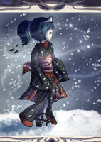 Peacefully Snowing by Punished-Kom