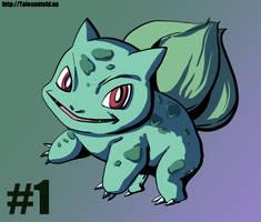 Bulbasaur- Gotta Draw Them All Challenge #1 by Punished-Kom