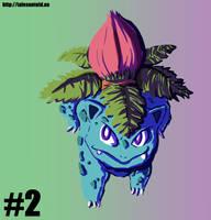 Ivysaur - Gotta Draw Them All #2 by Punished-Kom