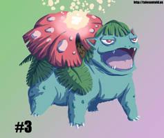 Venusaur - Gotta Draw 'Em All #3 by Punished-Kom