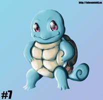 Squirtle - Gotta Draw 'Em All #7 by Punished-Kom