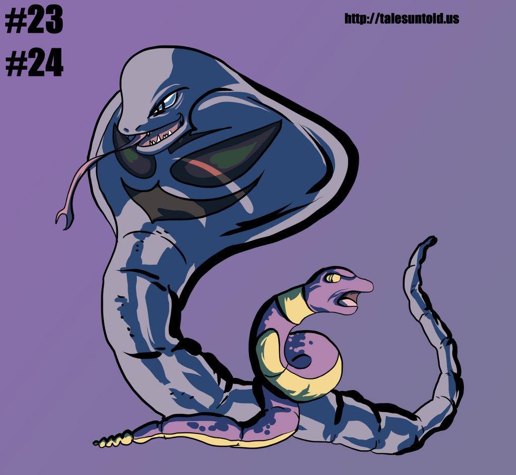 Ekans Family- Gotta Draw 'Em All #23/24 by Punished-Kom