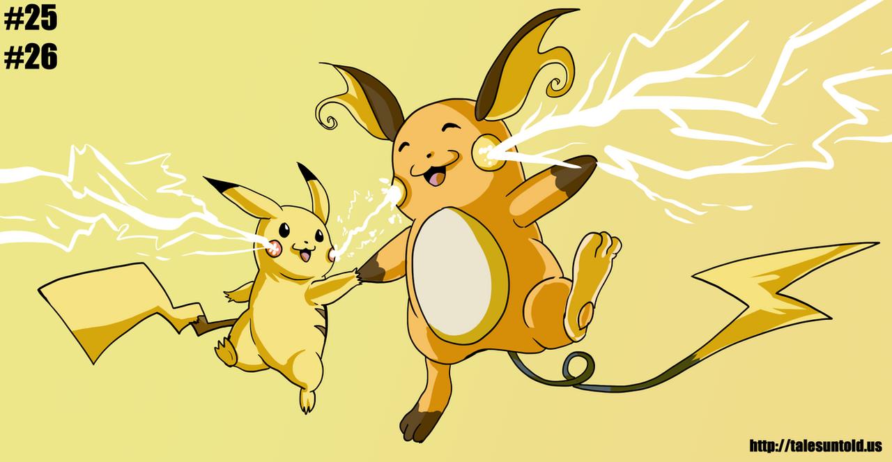 Pikachu Family- Gotta Draw 'Em All #25/26 by Punished-Kom