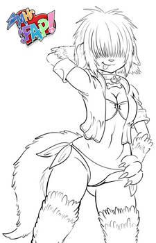 Roxy Swimsuit - MHFAP! Sketch