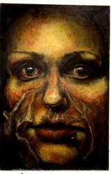 self-potrait. weak skin by Riinunen