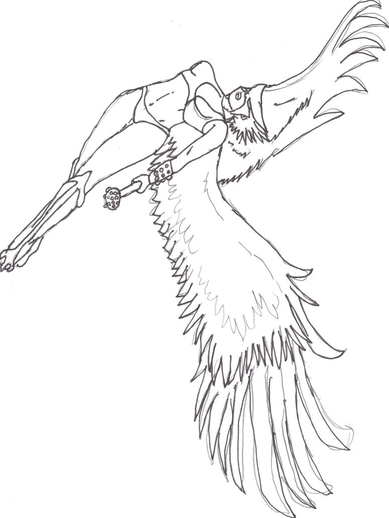 coloring pages of hawkgirl - photo#35