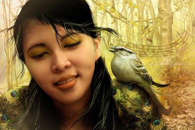Bird Song by yazzmustbecrazy