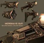 Microwave gun