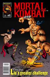 Mortal Kombat - comic book cover by NinjaBrazil