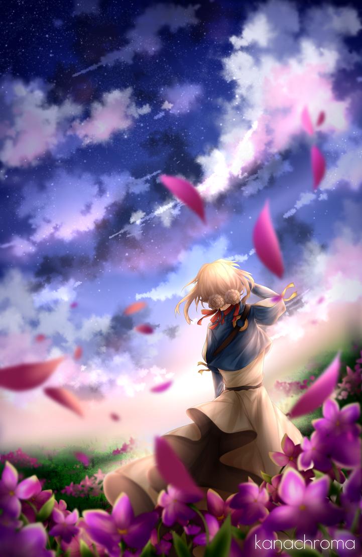 Violet by kanachroma