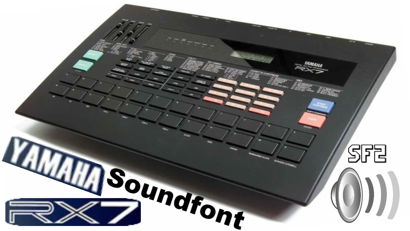Yamaha RX7 Soundfont 80's