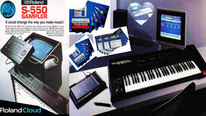 Roland Cloud S-50 And S-550 VST Legendary Concepts