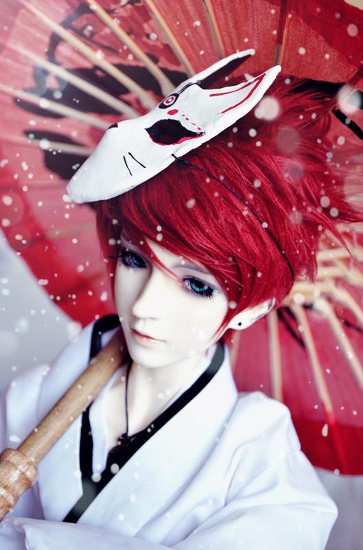 Kitsune Boy by Yuki-Arisu